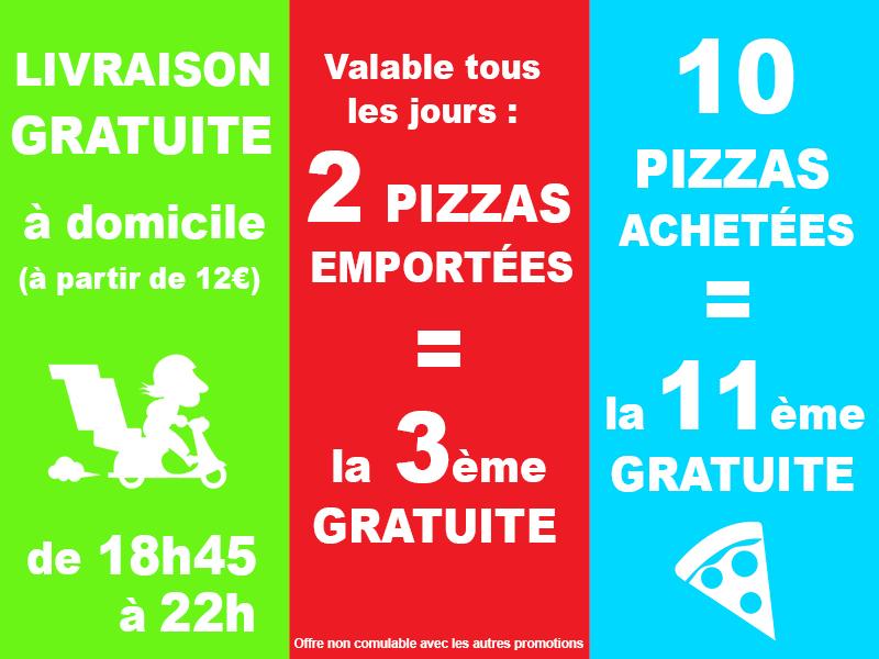 Livraison avec la pizzeria Pizza Rodez